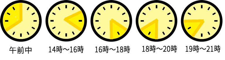指定時間表